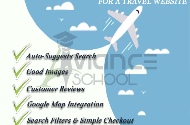 The essential features for a travel websites